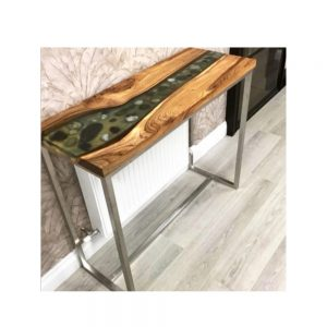 Maghermore Hall River Resin Table