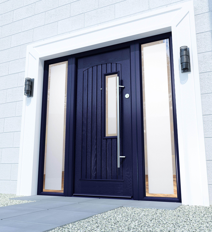 Glasgow Anthracite Grey Palladio Composite Door