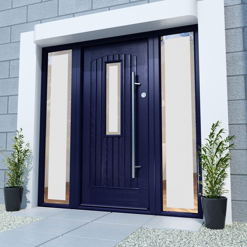 Albany Anthracite Grey Palladio Door